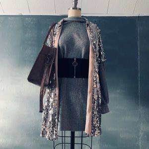 Sequin dress/overcoat